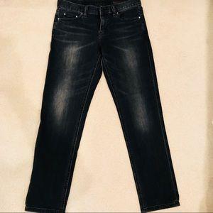 Club Monaco Straight Leg Boyfriend Jeans